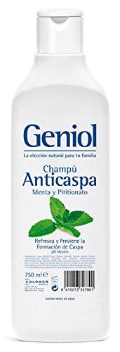 Geniol Shampoo, Antidandruff Mint, 750 ml