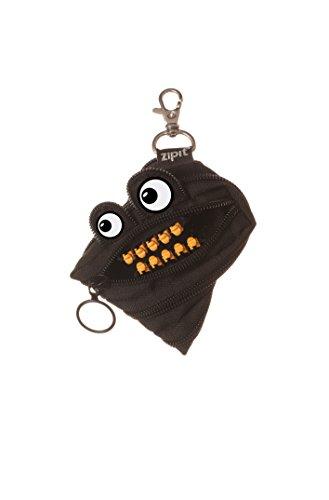 Zipit Grillz Monster Mini Zipper Pouch - Black