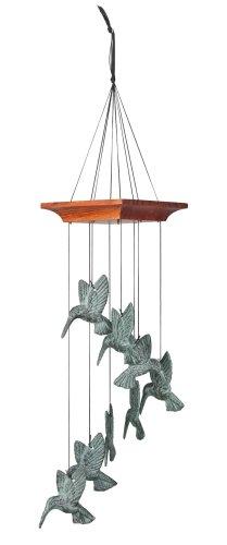 Woodstock Habitats - Hummingbird Spiral Chime