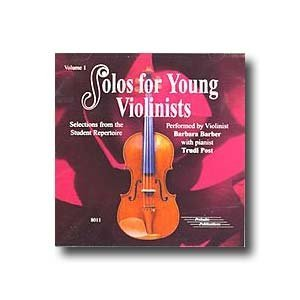 Solos for Young Violinists, Volume 1 CD by Barbara Barber and Trudi Post