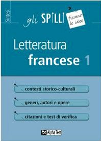 Cover Letteratura francese: 1