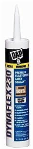 Dap 18412 Dynaflex 230 Premium Elastomeric Latex Sealant 10.1-Ounce