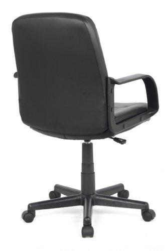 Sixbros sedia ufficio sedia girevole nera h 8365l 2 for Sedia da ufficio amazon