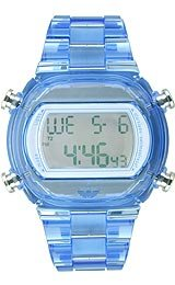 Adidas Nylon Candy Digital Grey Dial Unisex watch #ADH6507
