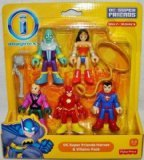 Fisher-Price Imaginext DC Super Friends Heroes & Villains Collection #1