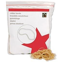 5 Star Rubber Bands No.36 Each 127x3mm [Bag 0.454kg]