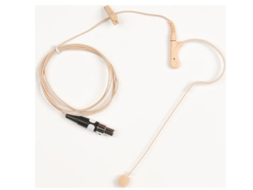 Tan Over Ear Mic W/Ta4F Connec