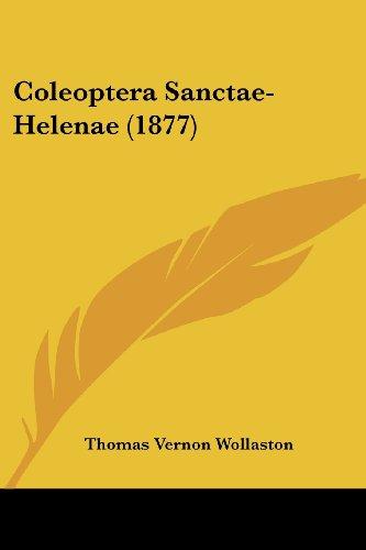 Coleoptera Sanctae-Helenae (1877)