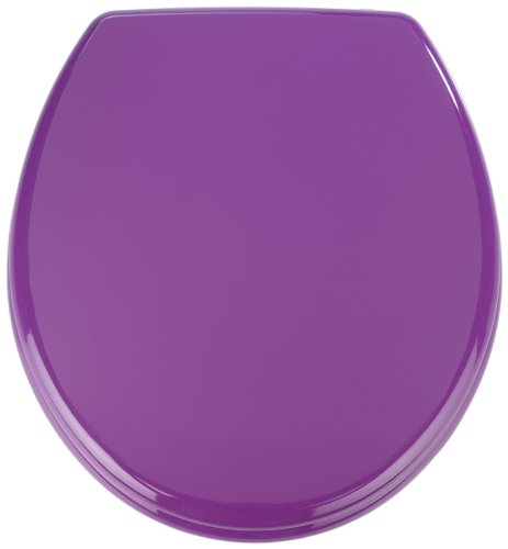 152285100 Prima Toilet Seat, Purple 152285100 152285100 By Wenko