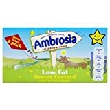 Ambrosia Low Fat Devon Custard 4 X 125G