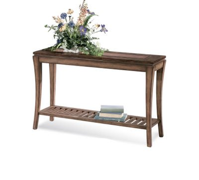 Cheap Bassett Mirror Sun Valley Rectangular Console Table in Walnut (8135-400)