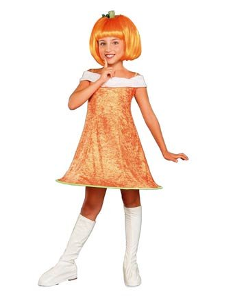 Child Pumpkin Spice Costume