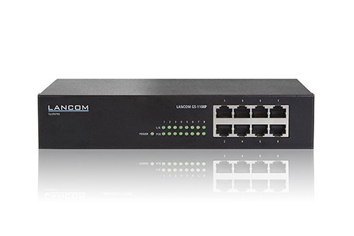 LANCOM GS-1108P Unmanaged 8-Port Gigabit Ethernet