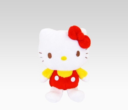 Hello Kitty Red/Yellow Mascot Plush: Spring