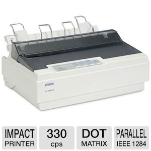 Best Review Of Epson LX 300+ II Impact Printer (C11C640001)