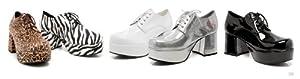 """Ellie Shoes E-312-Pimp ,Men's 3"""" Heel Platform Shoe. L Leopard from Ellie Shoes"""