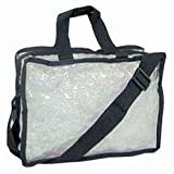 City Lights Carry-All Make Up Bag, Large, Clear ~ City Lights