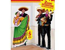Amscan - 5' Fiesta Dancers & Mariachi Add-Ons - 1