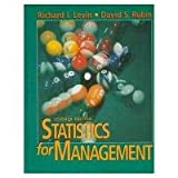 img - for Statistics for Management (7th Edition) book / textbook / text book