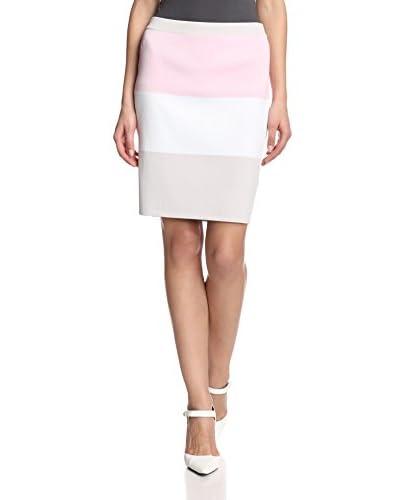 Romeo & Juliet Couture Women's Colorblock Skirt