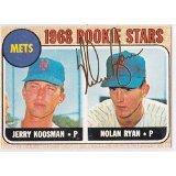 Nolan Ryan 1968 Topps Rookie # 177 Reprint New York Mets Baseball Card