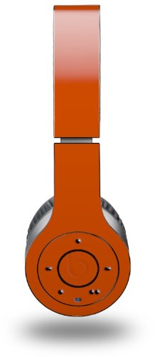 Solids Collection Burnt Orange Decal Style Skin (Fits Genuine Beats Wireless Headphones - Headphones Not Included)