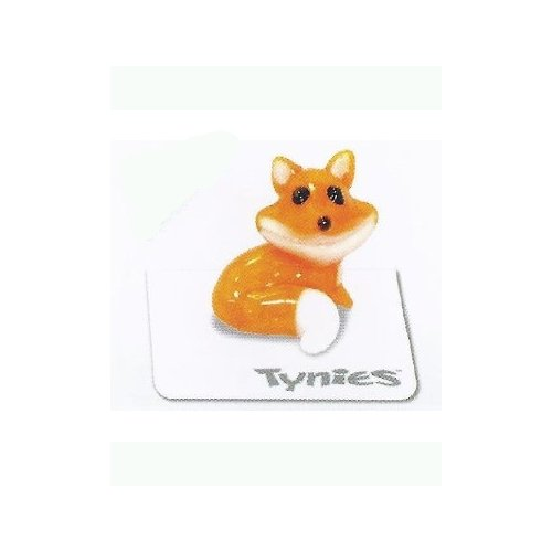 Tynies Animals Fred (Colors May Vary) Glass Figure