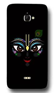 SEI HEI KI Designer Back Cover For INFOCUS M350 - Multicolor