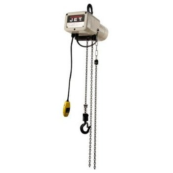 Jet 110120 Jsh-275-20 1/8 Ton Capacity 20 Ft. Lift Electric Hoist