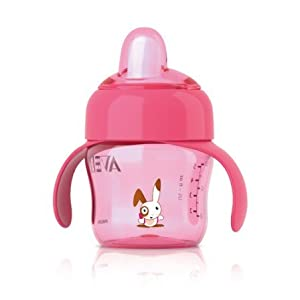 Philips AVENT 7oz/200ml Pink Spout Non Spill Toddler Cup - 6m de Dropship - BebeHogar.com