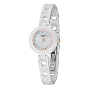 Stuhrling Original Mother of Pearl Bracelet Watch