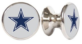 Dallas Cowboys NFL Stainless Steel Cabinet Knob / Drawer Pull (Nfl Fan Pull compare prices)