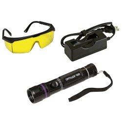 Opti-Lux 400 True Uv Led Rechargeable Leak Detection Flashlight