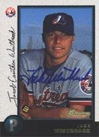 Jake Westbrook Montreal Expos 1998 Bowman Autographed Hand Signed Trading Card -... by Hall+of+Fame+Memorabilia