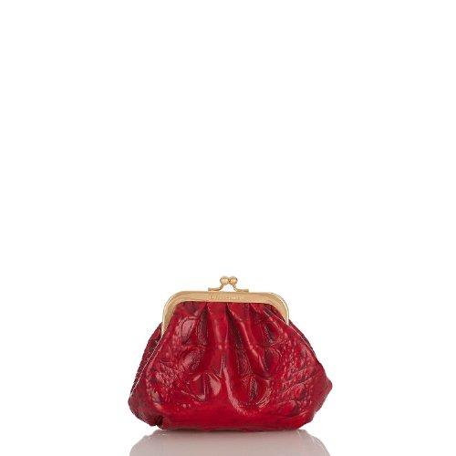 Kisslock Pouch<br>Melbourne Ruby