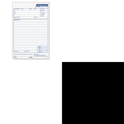KITTOP3868TOP7532 - Value Kit - Tops Snap-Off Job Work Order Form (TOP3868) and Tops The Legal Pad Legal Rule Perforated Pads (TOP7532) тени минувшего