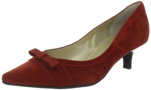 Peter Kaiser GINDY Pumps Women's Red Rot (KARNEOL SUEDE RUBIN RIPSBAND STEPP 999) Size: 3 (36 EU)
