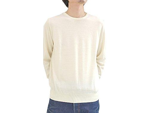 (トゥモローランド) TOMORROWLAND tricot トリコ ハイゲージ クルーネックニット 54-02606 メンズ サイズS 11.OffWhite