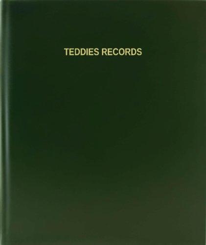 BookFactory® Teddies Records - 120 Page, 8.5