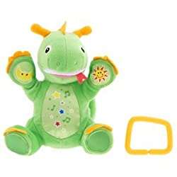 Baby Einstein - Press & Play Pals - Dragon - Mozart & Speaks English, Spanish, & French made by Kids II