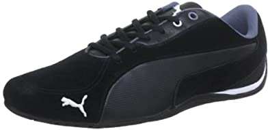 Puma Drift Cat 5 S 304689, Herren Sneaker, Schwarz (black-grisaille 02), EU 41 (UK 7.5) (US 8.5)