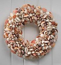 Nantucket Shell Wreath