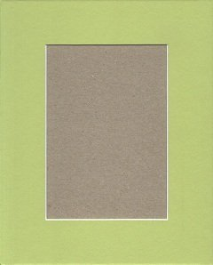 24x36 Apple Green Picture Mats Mattes Matting with White Core, for 20x30 Pictures
