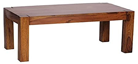1PLUS Sheesham Couchtisch Massiv 110 x 60 cm Massivholz