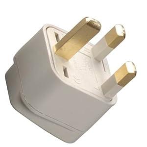 Grounded Adapter Plug  to United Kingdom GUD