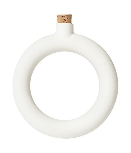 Areaware OTFLBWH Bracelet Flask, White by Areaware