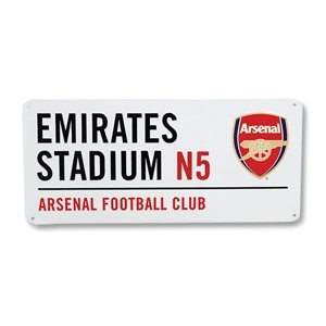 Arsenal Street Sign - (40cm x 18cm) - One Size