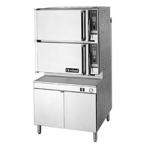 240V 3 Phase Cleveland 36-Pcem-48 Steampro Xvi Electric Sixteen Pan Pressure And Convection Steamer