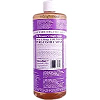 Dr. Bronners Magic Soaps 18-in-1 Hemp Lavender Pure-Castile Soap 32 oz
