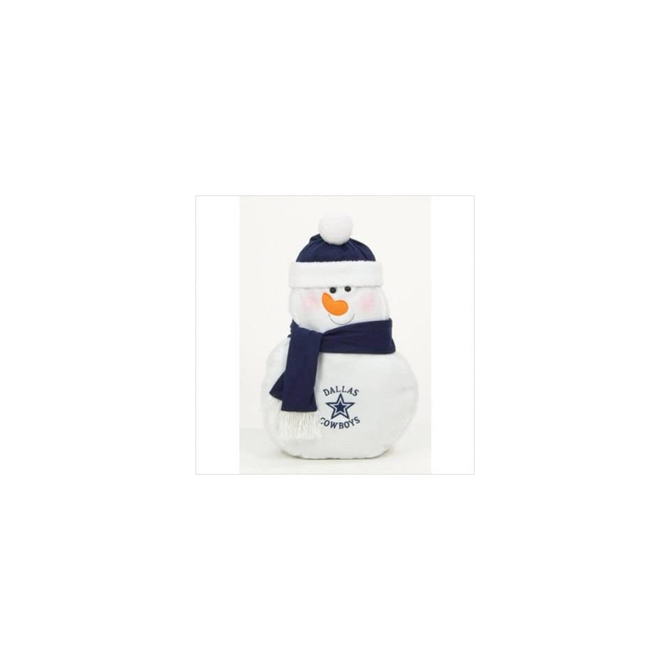 Dallas Cowboys Nfl Plush Snowman Pillow (22) Sports